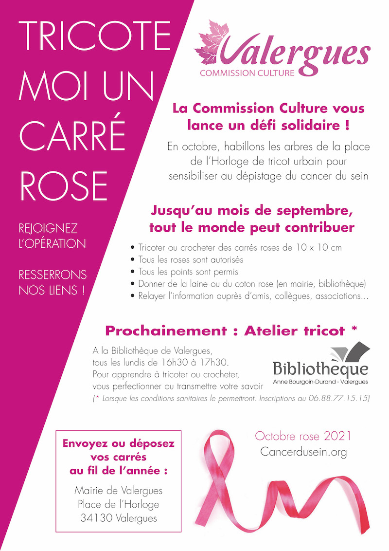 Affiche tricot rose 2021 site